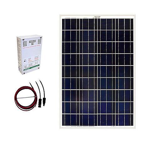 Grape Solar 100-Watt Off-Grid Solar Panel Kit - Sam's Club