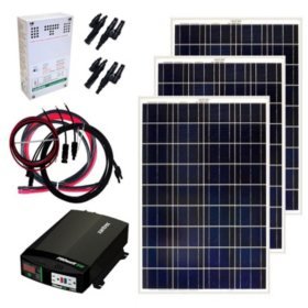 Grape Solar 300-Watt Off-Grid Solar Panel Kit