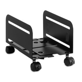 Mount-It! MI-7153 CPU Stand With Four Casters