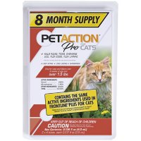 PetAction Plus for Cats and Kittens (8 doses)