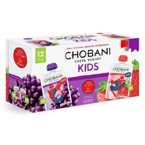 Chobani Kid's Greek Yogurt Pouches (12 ct.)