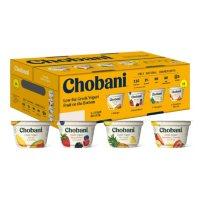 Chobani Fruit On The Bottom Greek Yogurt Variety Pack (16 pk.)