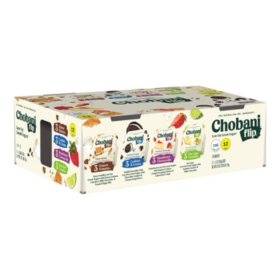 Chobani Flip Low-Fat Greek Yogurt Variety Pack (12 pk.)