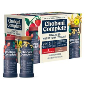 Chobani Complete Yogurt Shakes Variety Pack (8 ct.)