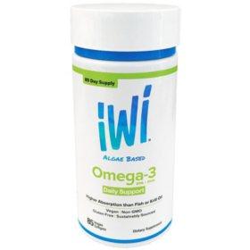 iWi Algae Based Omega-3 Daily Support (85 ct.)