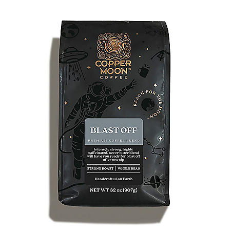 Copper Moon Coffee Whole Bean, Blast Off (32 oz.)
