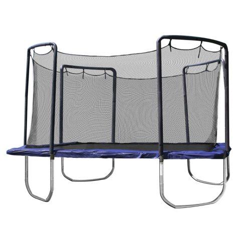 Skywalker Trampolines 15' Sq Trampoline and Enclosure - Blue
