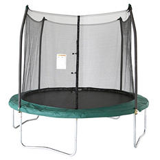 Skywalker Trampolines 10' Round Trampoline and Enclosure - Green