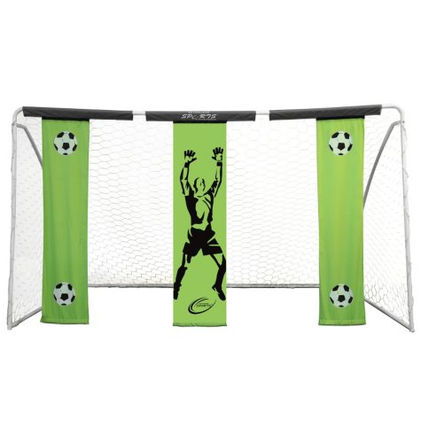 Skywalker Sports 12' x 7' Soccer Goal with Practice Banners