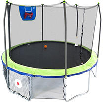 Skywalker Trampolines 12' Round Sports Arena Trampoline with Enclosure - Dual Color