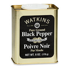 Watkins Pure Ground Black Pepper (6 oz.)