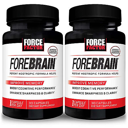 Force Factor Forebrain Memory Support Supplement (30 ct., 2 pk.)