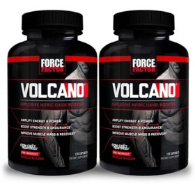 Force Factor VolcaNO Nitric Oxide Booster (120 ct., 2 pk.)
