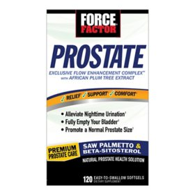 Force Factor Prostate Support Supplement (120 ct.)