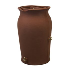 Impressions Amphora  50-Gallon Rain Saver - Terra Cotta