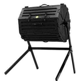 Good Ideas Compost Wizard Insulated Composter Single Chamber - 54 Gallon, Black