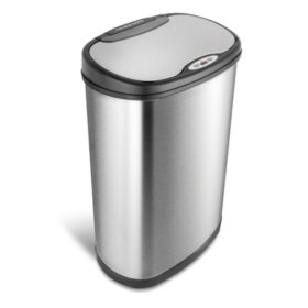 Nine Stars Motion Sensor Trash Can, 13.2 Gallon (Assorted Colors)