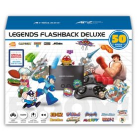 Legends Flashback Deluxe Game Console with Bonus SD Card