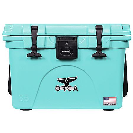 ORCA 35-Quart Cooler w/Liddup LED Lighting