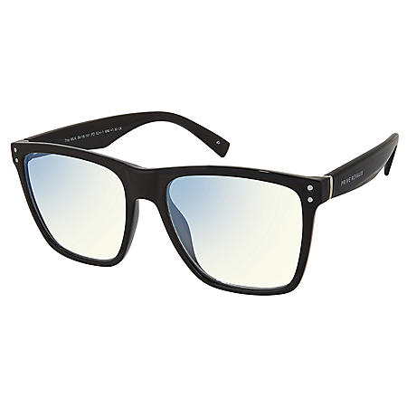 The MLK, Anti Blue-Light Blocking Lenses, Caviar Black/Clear