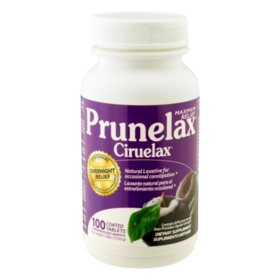Prunelax Cirulax Max Relief Laxative, Coated Tablets (100 ct.)