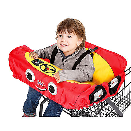 Little Tikes Cozy Coupe Shopping Cart and High Chair Cover, Red