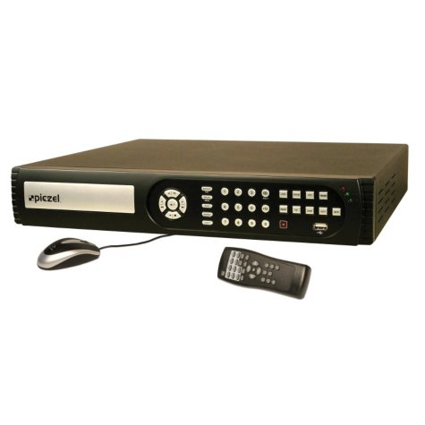 Piczel 5191 16 Channel H.264 Digital Video Recorder with 2TB Hard Drive, DVD Option, 3G/4G Phone Monitoring, and E-mail
