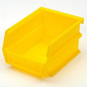 "10 Piece Yellow Bins - 5-3/8"" L x 1/8"" W x 3"" H"
