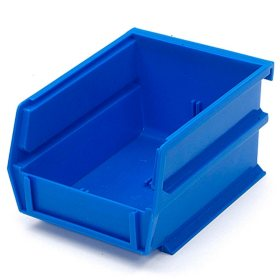 "10 Piece Blue Bins - 5-3/8"" L x 1/8"" W x 3"" H"