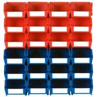 LocBin Wall Storage, 24 ct. (12 Small Bins, 12 Medium Bins)
