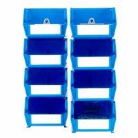 LocBin Small/Medium BinKits, 8 ct. (Blue)