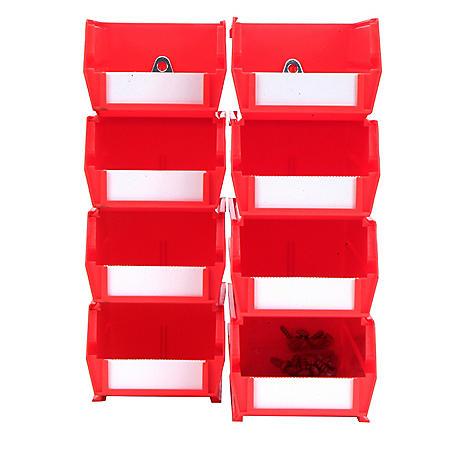 LocBin Small/Medium BinKits, 8 ct. (Red)