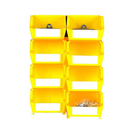 LocBin Small/Medium BinKits, 8 ct. (Yellow)