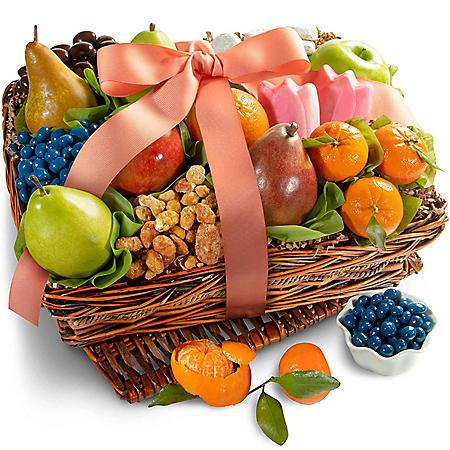 Springtime Fruit and Gourmet Basket