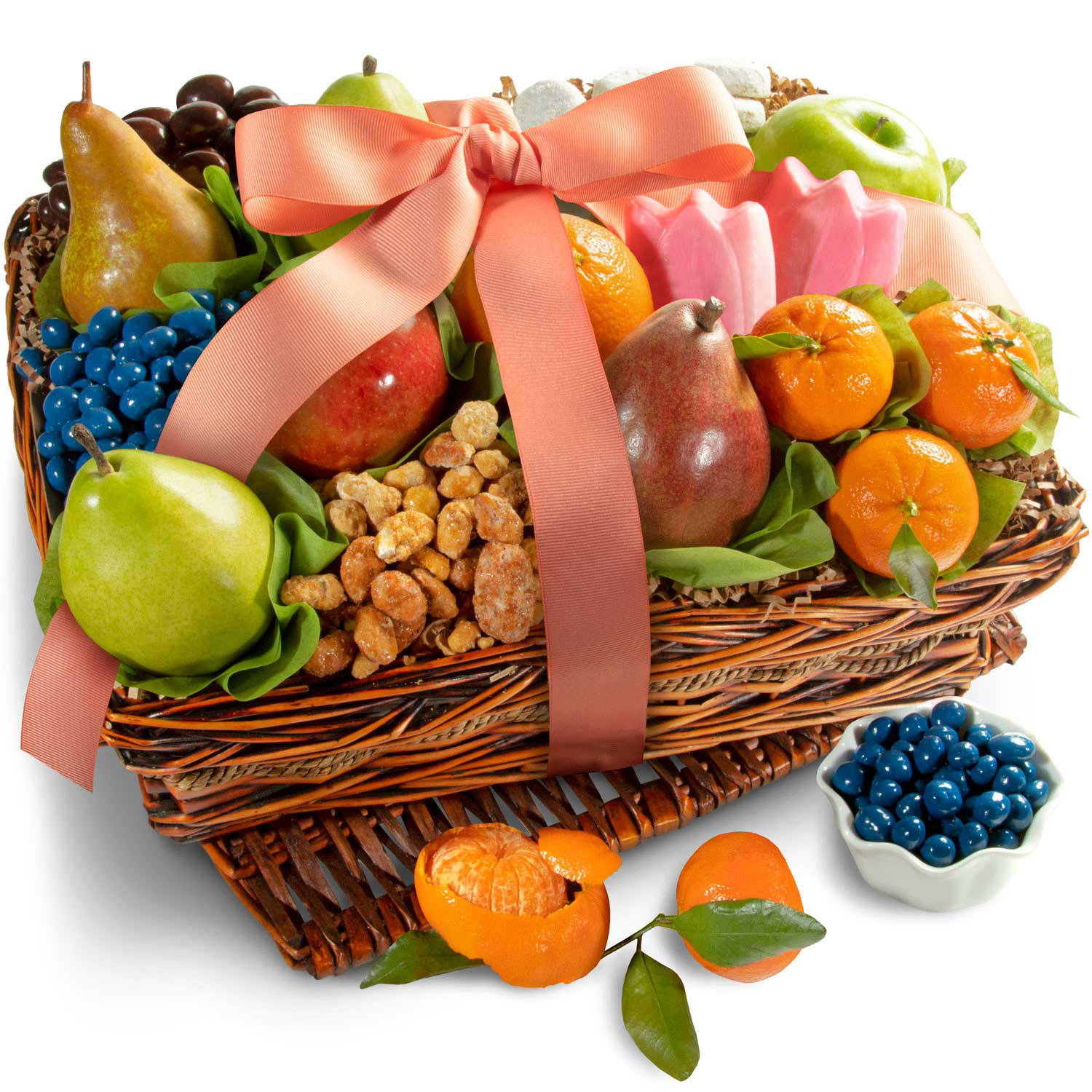 Golden State Fruit Springtime Fruit and Gourmet Basket
