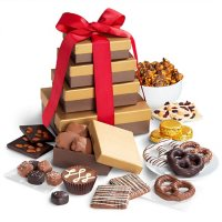 Golden State Fruit Chocolate Indulgence Deluxe Gift Tower Deals