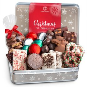 2 lb Gourmet Chocolate Confection Gift Box