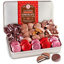 Happy Valentine's Day Gourmet Chocolate Confection Gift Tin (2 lbs.)