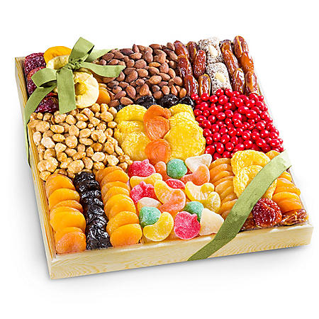 Executive Dried Fruit, Nuts and Treats Gift Tray