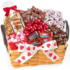 Be My Valentine Chocolate Gift Basket