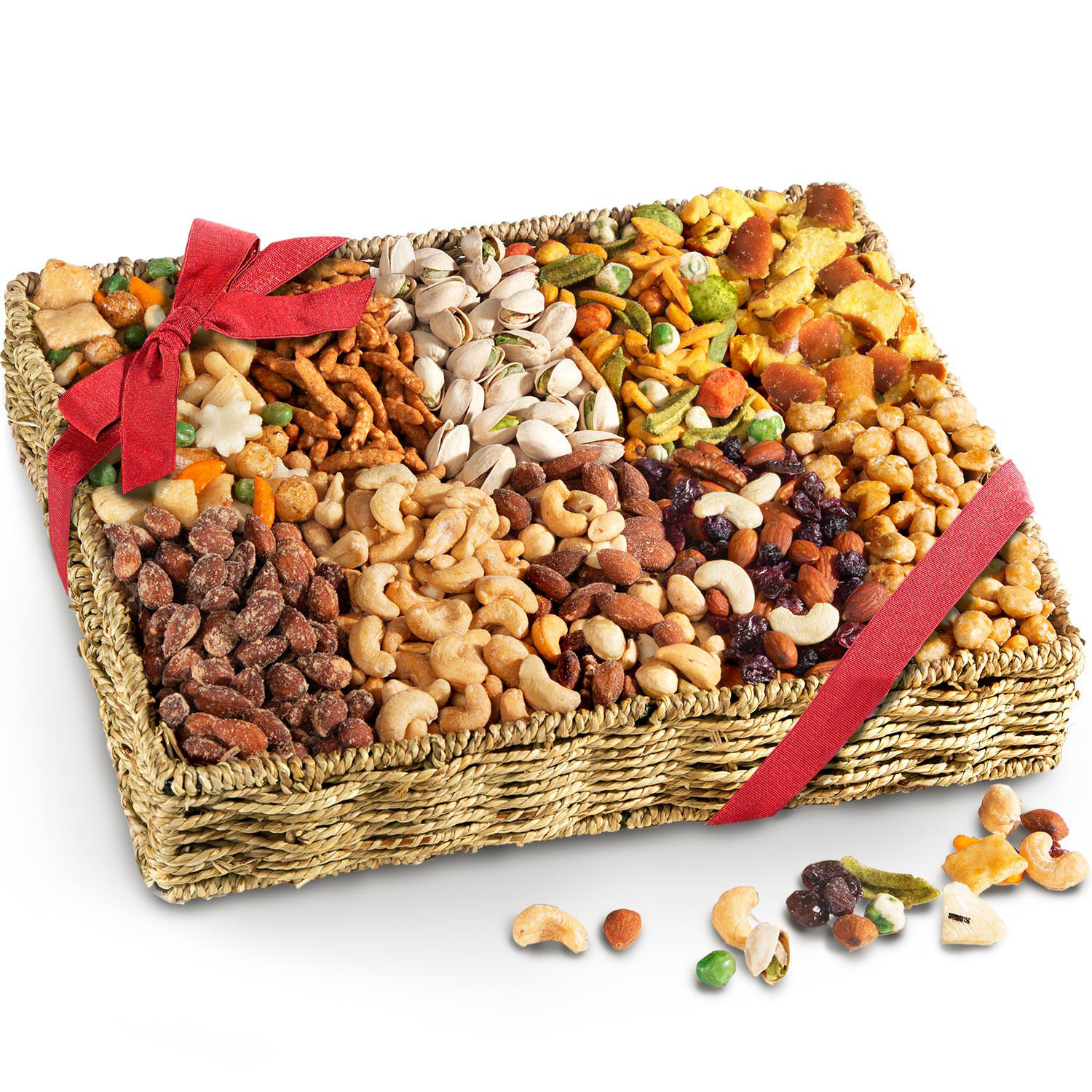 Golden State Fruit Savory and Sweet Snack Gift Basket