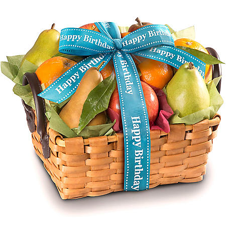 Happy Birthday Orchard Favorites Gift Basket