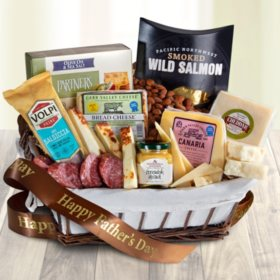 Happy Father's Day Three Cheese and Salami Gift Hamper