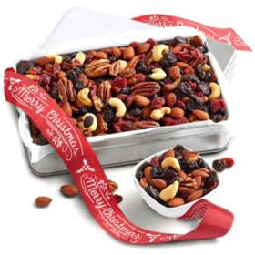 Festive Fruit & Nut Mix in Gift Tin
