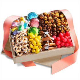 Chocolate Sweets & Treats Gift Crate