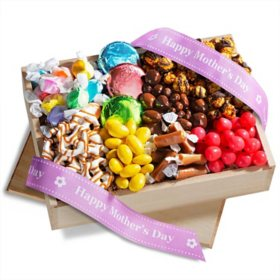 Happy Mother's Day Chocolate Sweets and Treats Gift Crate