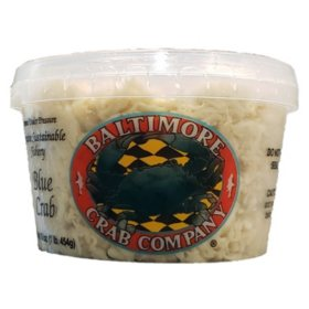Baltimore Crab Company Fresh Backfin Crab Meat (1lb.)