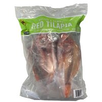 All Natural, Gutted and Scaled Red Tilapia (4 lbs.)