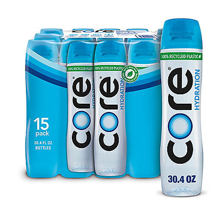85f0fb5cbc Core Hydration pH Nutrient Enhanced Water (30.4 fl. oz., 15 pk ...