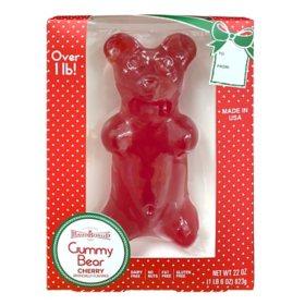 Maud Borup Giant Gummy Bear Cherry (22 oz.)